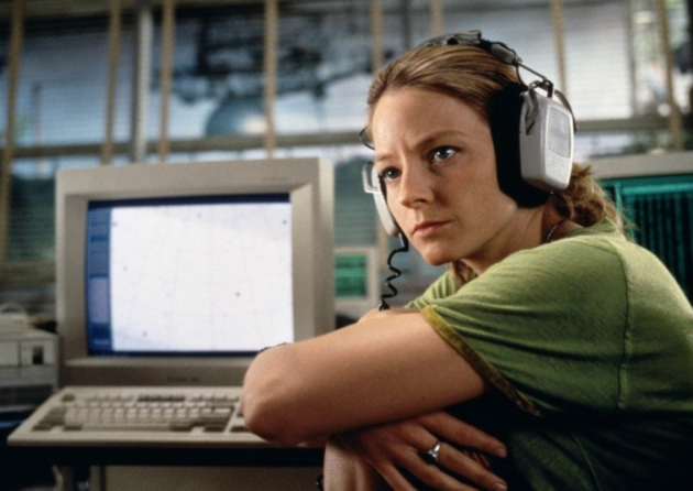 Jodie Foster in Contact (1997) / a lez bored on the internet